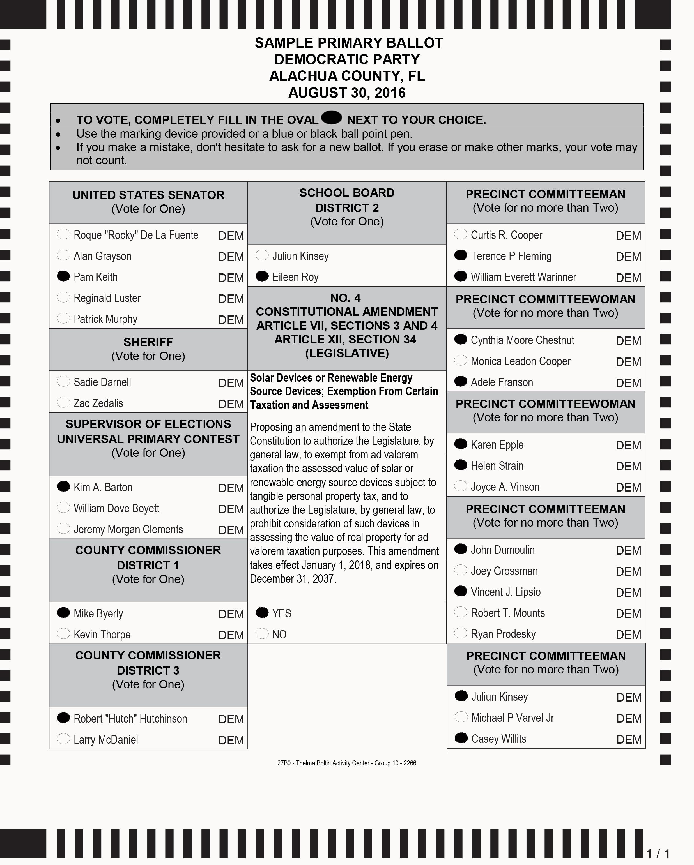 Voter Guide – Jeremiah Tattersall
